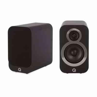 Q Acoustics 3010i è un diffusore da stand nero