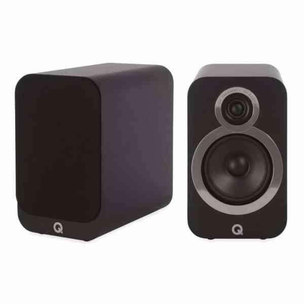 Q Acoustics 3020i è un diffusore da stand nero
