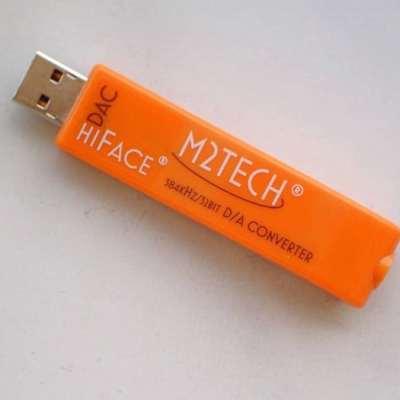 M2Tech hiFace DAC è un DAC arancione