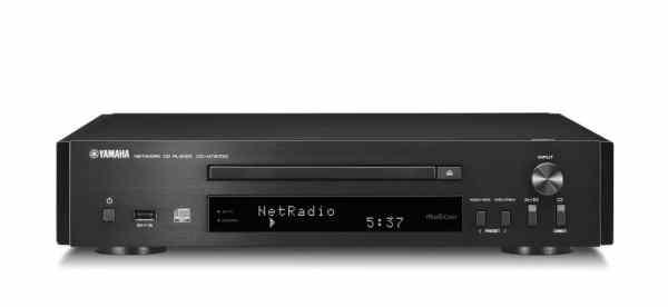 Yamaha CD-NT670D è un lettore Cd e media player nero
