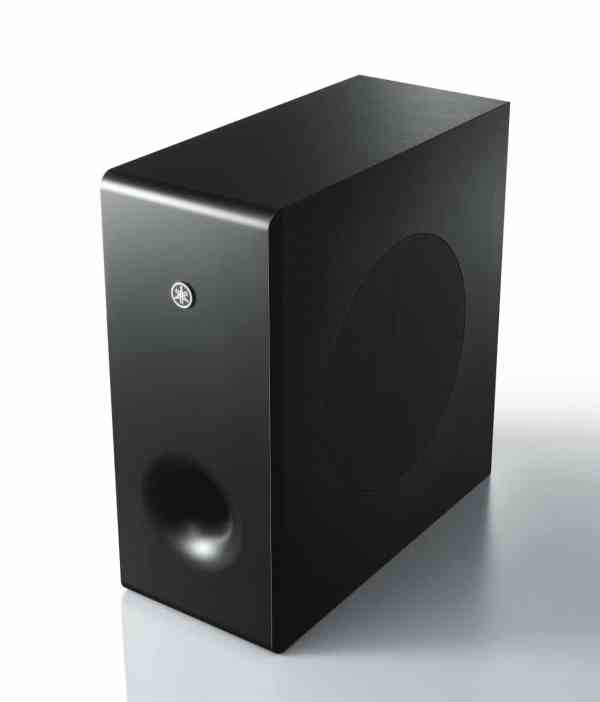 Yamaha MusicCast BAR 400 è un subwoofer nero