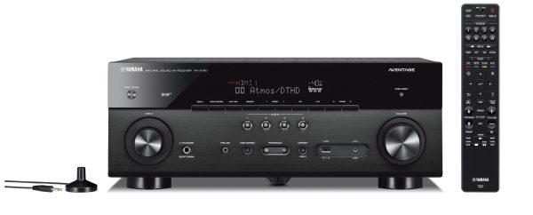 Yamaha AVENTAGE RX-A780 è un sintoamplificatore Audio/Video nero