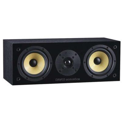 Davis Acoustics Balthus 10 diffusore per canale centrale nero aperto