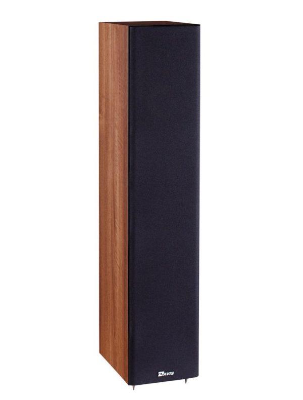 Davis Acoustics Balthus 50 è un diffusore da pavimento noce griglia