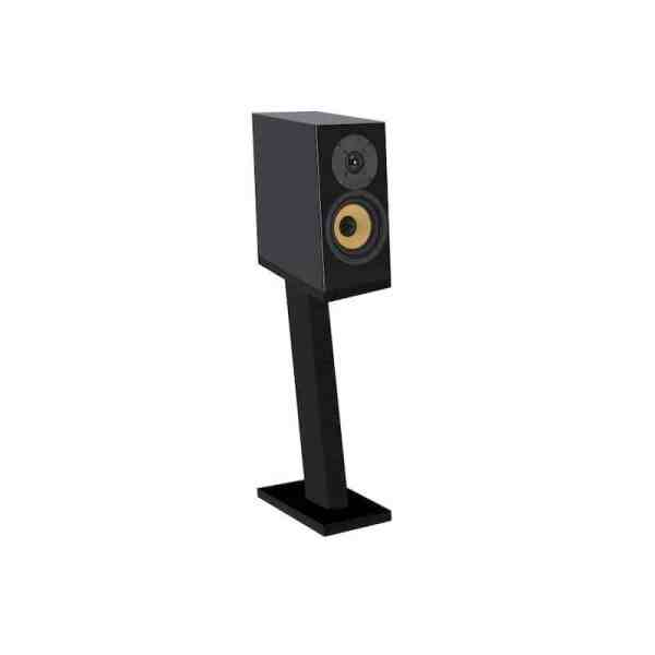 Davis Acoustics Courbet N°3 è un diffusore da stand nero aperto
