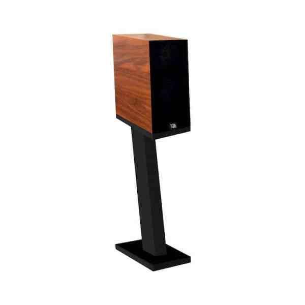Davis Acoustics Courbet N°3 è un diffusore da stand noce scuro griglia
