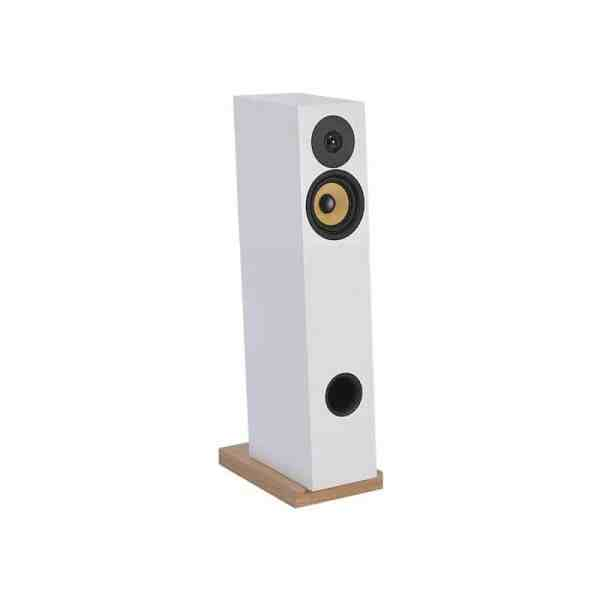 Davis Acoustics Courbet N°4 diffusore da pavimento bianco aperto