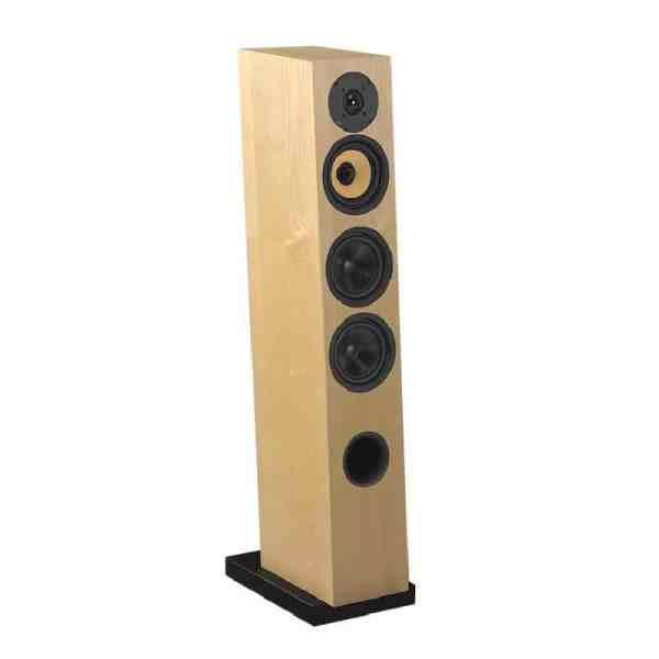 Davis Acoustics Courbet N°5 è un diffusore da pavimento frassino naturale aperto