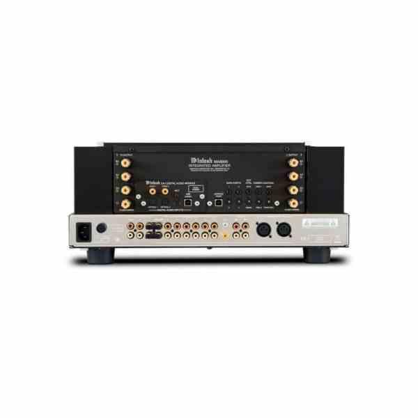 McIntosh MA8900 è un amplificatore integrato nero retro