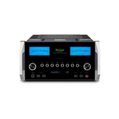 McIntosh MA9000 è un amplificatore integrato nero fronte