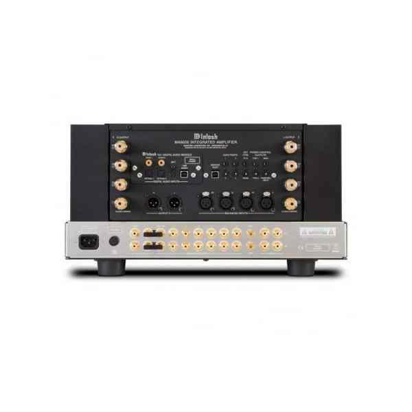McIntosh MA9000 è un amplificatore integrato nero retro