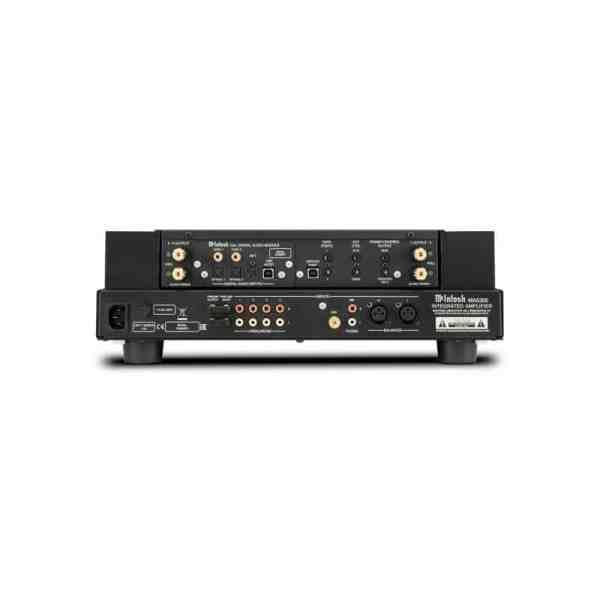 McIntosh MA5300 è un amplificatore integrato nero retro