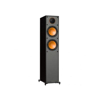 Monitor Audio Monitor 200 è un diffusore da pavimento nero aperto