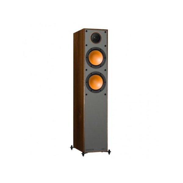 Monitor Audio Monitor 200 è un diffusore da pavimento noce aperto