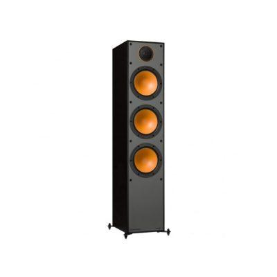 Monitor Audio Monitor 300 è un diffusore da pavimento nero aperto