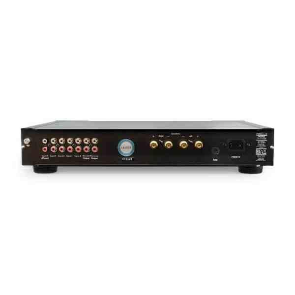 Rega Elex R amplificatore integrato nero retro