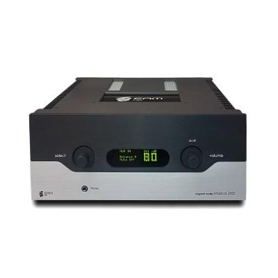 Eam Lab Musica 202i è un amplificatore integrato fronte