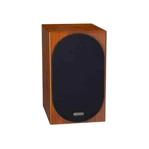 Monitor Audio Silver 100 6G è un diffusore da stand noce griglia