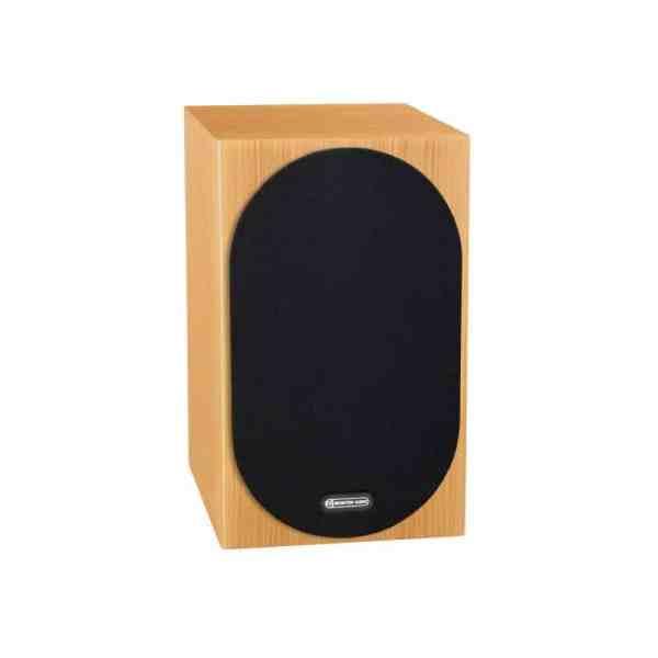 Monitor Audio Silver 100 6G è un diffusore da stand rovere naturale griglia