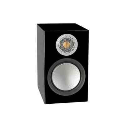 Monitor audio Silver 50 6G è un diffusore da stand nero laccato aperto