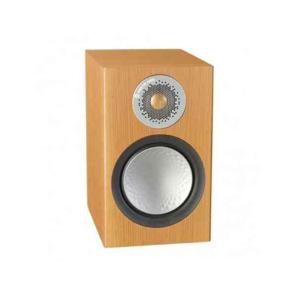 Monitor audio Silver 50 6G è un diffusore da stand rovere naturale aperto