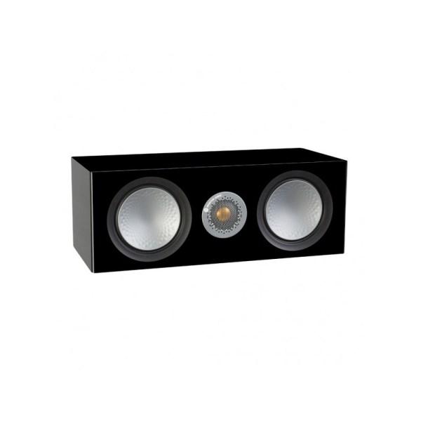 Monitor Audio Silver C150 è un diffusore per canale centrale nero laccato aperto
