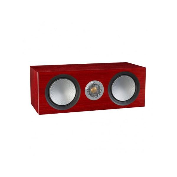 Monitor Audio Silver C150 è un diffusore per canale centrale rosenut aperto