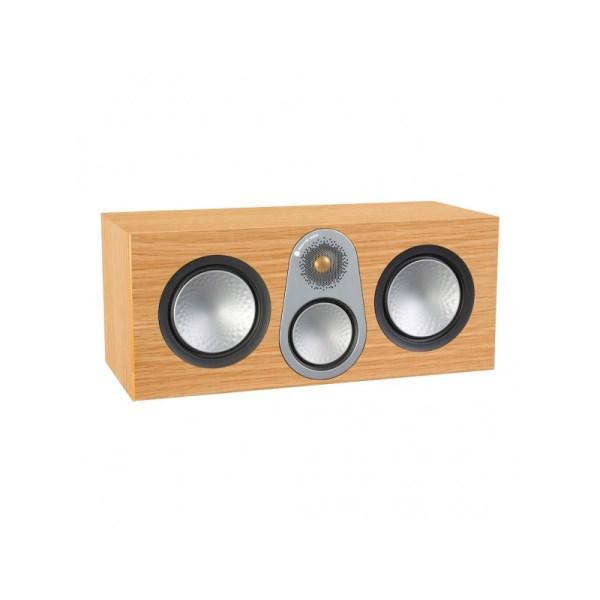 Monitor Audio Silver C350 è un diffusore per canale centrale rovere naturale aperto