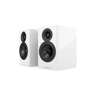 Acoustic Energy AE 500 è un diffusore da stand bianco aperto