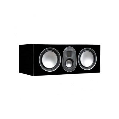 Monitor Audio Gold C250 5G è un diffusore per canale centrale nero laccato aperto