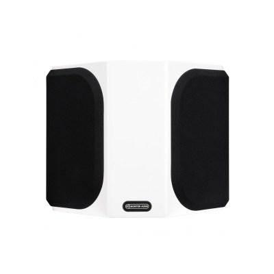 Monitor Audio Gold FX 5G è un diffusore da parete bianco griglia