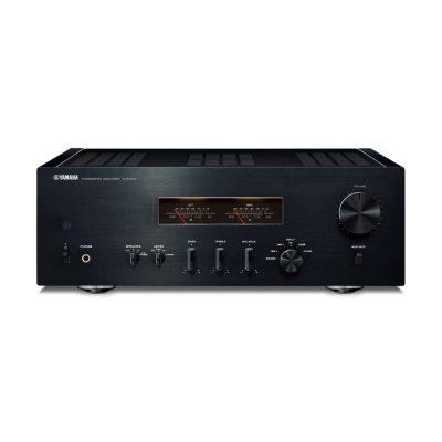 Yamaha A-S1200 è un amplificatore integrato nero fronte