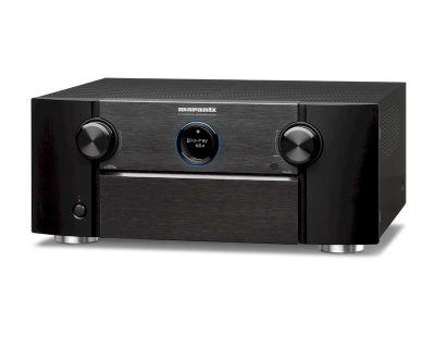 Marantz SR7015 è un sintoamplificatore audio/video nero