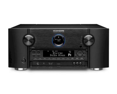 Marantz SR 8015 è un sintoamplificatore audio/video nero aperto