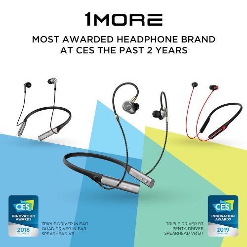 bt cable wiring diagram dual humbucker 1more receives ces award for new flagship penta driver in ear just announced a headphone at which they have earned the 2019 innovation honoree neckband style