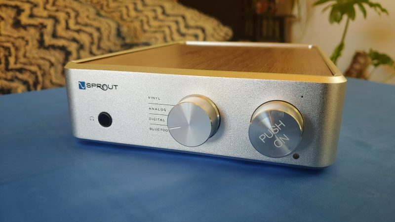 PS Audio Sprout100 Integrated Amplifier In The House!