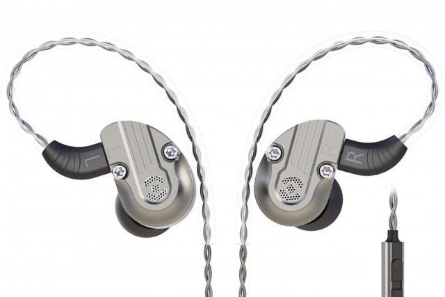 RevoNext NEX202 in Ear Monitor,Dual Driver 1DD+1BA Aluminum Alloy
