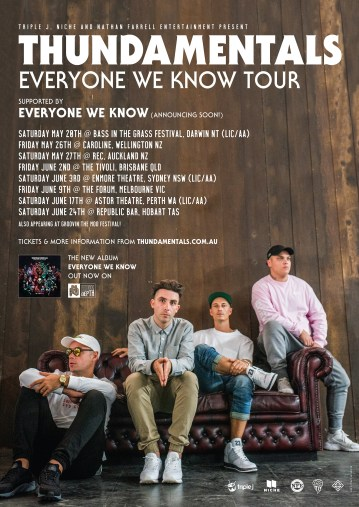 thundamentals-tour-poster