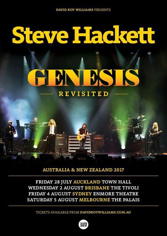 Steve Hackett Tour Poster