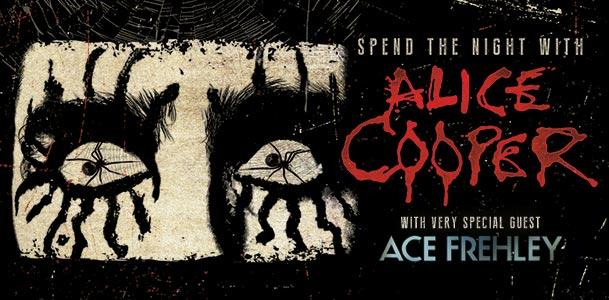 Alice Cooper Tour Banner