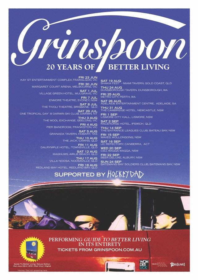 Grinspoon Tour Poster