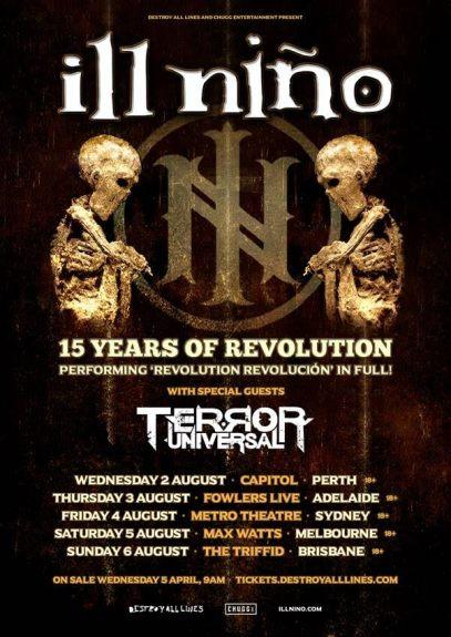 Ill Nino Tour Poster