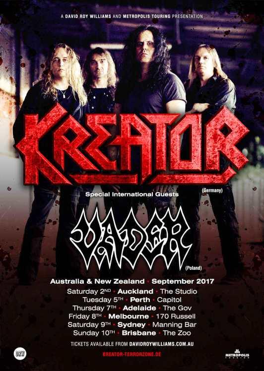 Kreator Tour Poster
