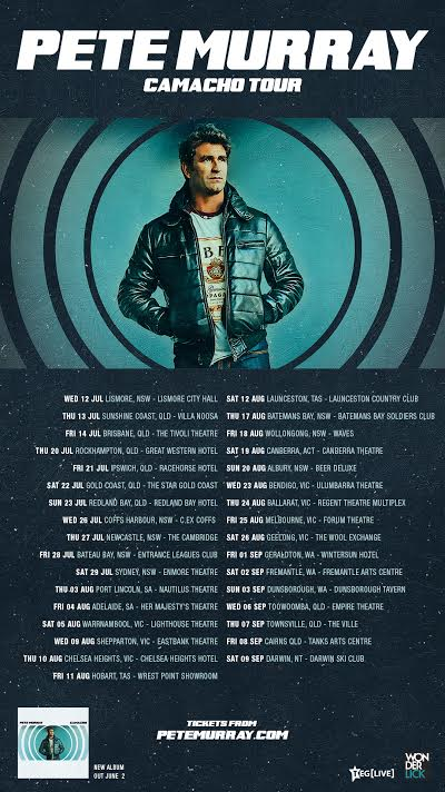 Pete Murray Tour Poster