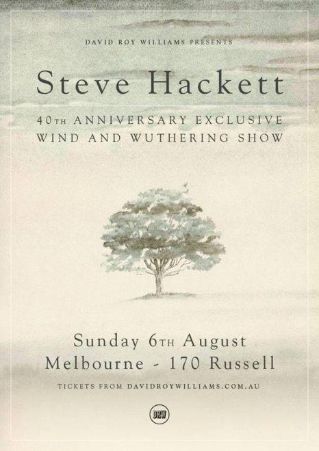 Steve Hackett - Wind & Wuthering