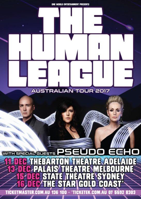 The Human League Tour Poster