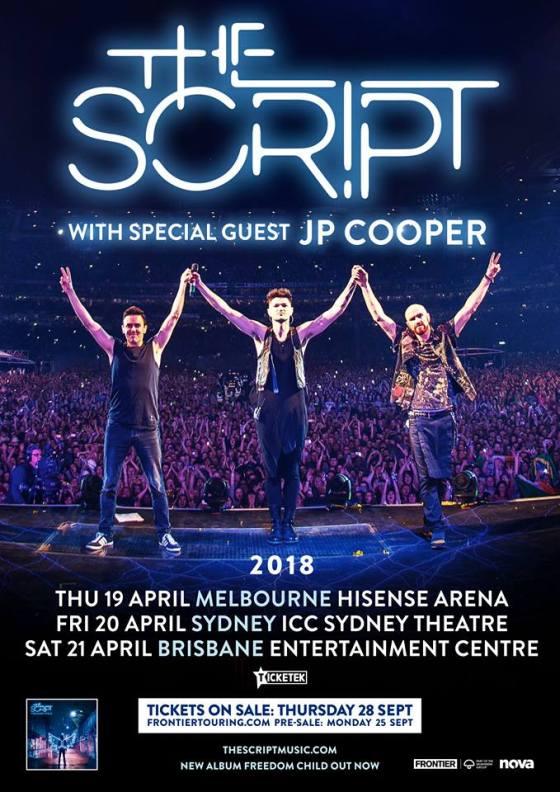 The Script Australian Tour