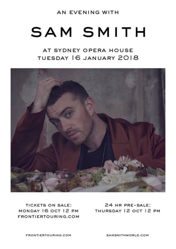 Sam Smith Tour Poster