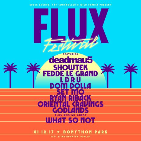 Flux Festival Poster