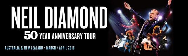 Neil Diamond Tour Banner